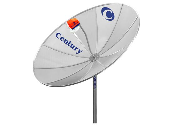 Antena Century Parabola Monoponto 1,70 CMS