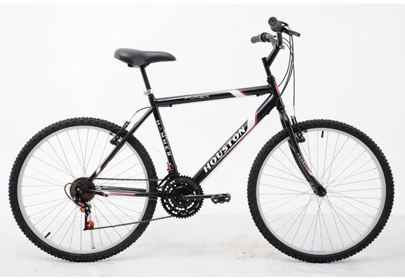 Bicicleta Houston Aro 26 Foxer Hammer FX26HML Vermelha ou Preta