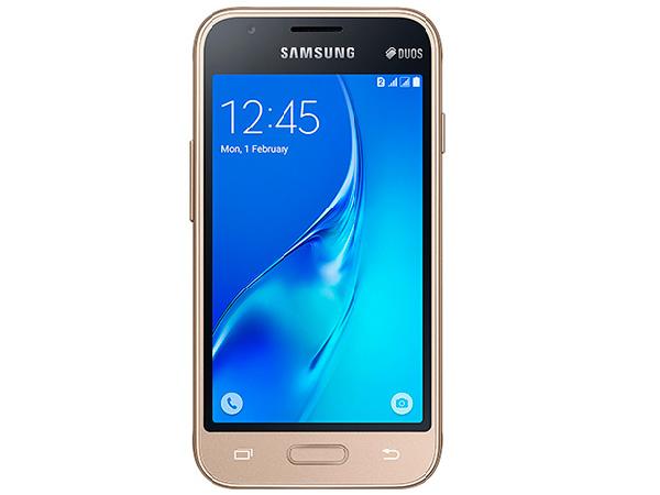 Smartphone Samsung Galaxy J1 Mini DS J105B Dourado