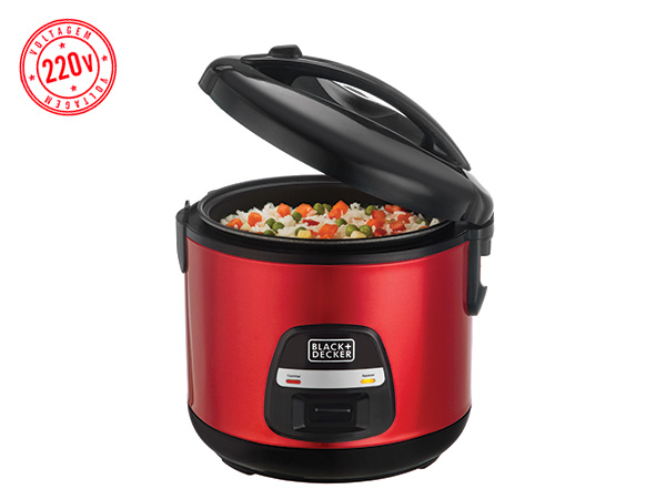 Panela de Arroz Black+Decker Superice 220V