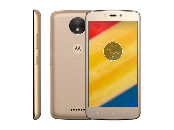 Smartphone Motorola Moto C Plus XT1726 Ouro