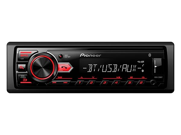 Auto Radio Pioneer com Bluetooh UBS MVH-298BT