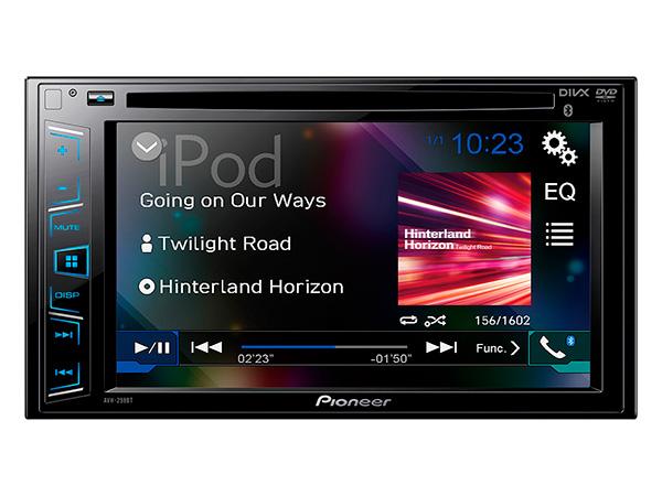 DVD Player Pioneer UBS AVH 298BT