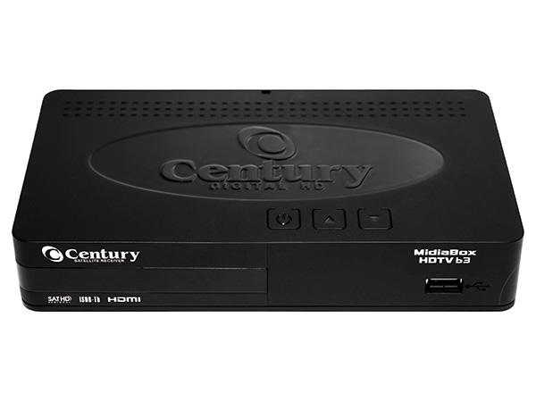 Receptor Century com conversor Midia Box B3