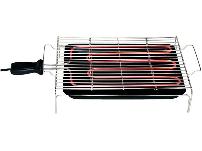 Churrasqueira Elétrica Layr Diet Grelha Niquelada 110V