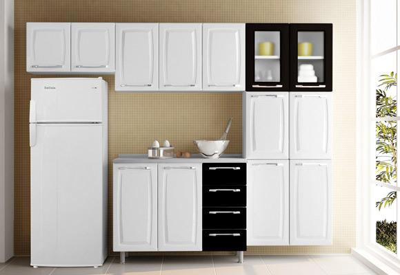Cozinha Compacta Itatiaia Criativa Max 2-C 3 peças
