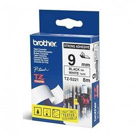 Fita Rotulador Brother TZeS-221 9MM