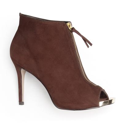 Bota Ankle Boot Marrom Lisa 101004