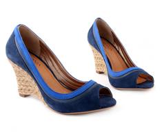 Espadrille Top Azul Marinho Corda 93026