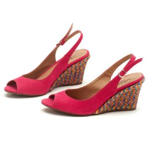 Anabela Top Pink Corda Colorida 9343