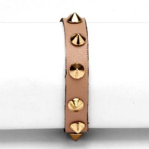 Feminino - Braceletes Nude Spikes 134001