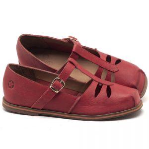 Sapatilha Alternativa em couro Vermelho - CÓDIGO - 3051