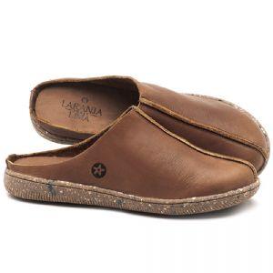 Flat Shoes em couro Tan - CÓDIGO - 137258