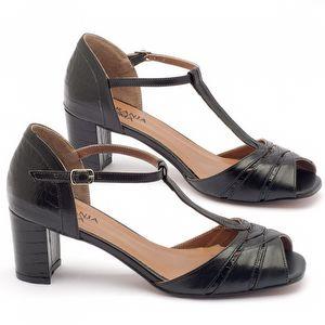 Sandália Salto médio de 6cm - Código - 3499