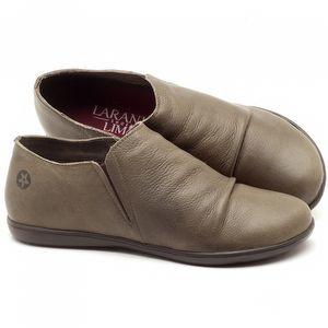 Flat Shoes em couro Musgo - Código 137153