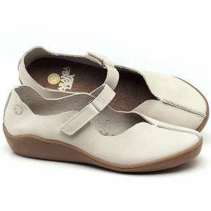 Flat Shoes em couro Off-White - Código - 139024