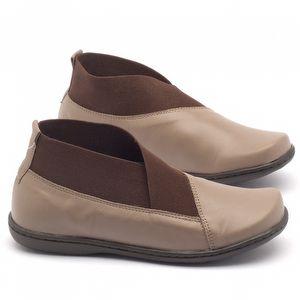 Flat Boot em couro - Código - 56086