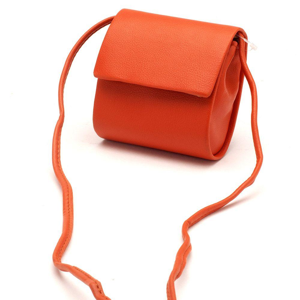 543985df9 Feminina Transversal Laranja Bolsa compacta 97012 | Laranja Lima Shoes