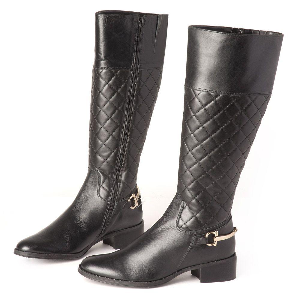 1788b0974f Bota Cano longo Preto Bridão 107292 | Laranja Lima Shoes