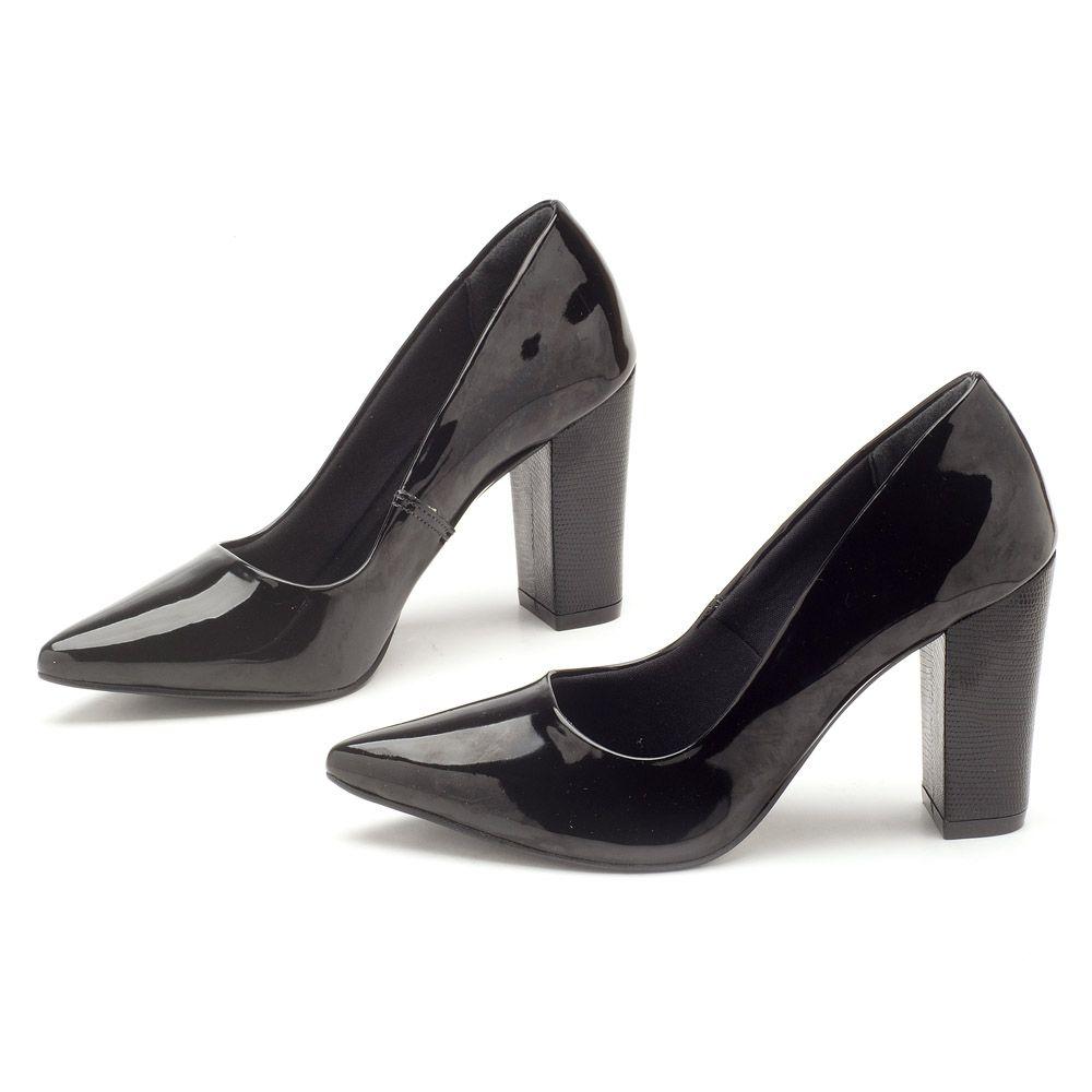 79412ca2d Scarpin Chiquérrimo Salto Alto de 9cm 138002   Laranja Lima Shoes