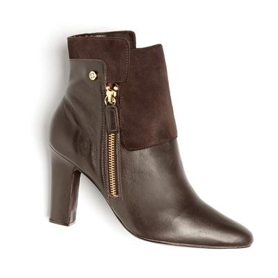 Botas Ankle boot Café Lisa 31920
