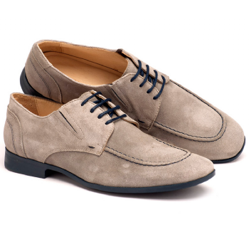 2ec1d6b30 Sapato Masc Social Cinza Solado Azul 122001 | Laranja Lima Shoes