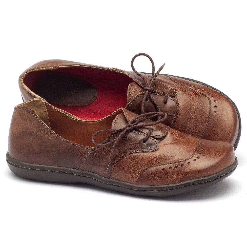 544a59c35 Tênis Cano Baixo em couro caramelo 56084 | Laranja Lima Shoes