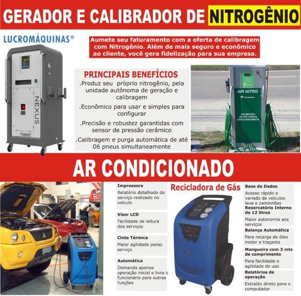 Ar Condicionado e Nitrogênio