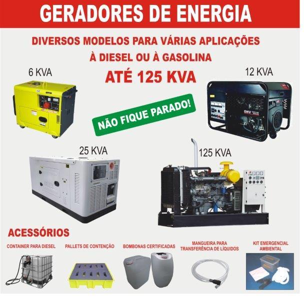 Geradores de Energia