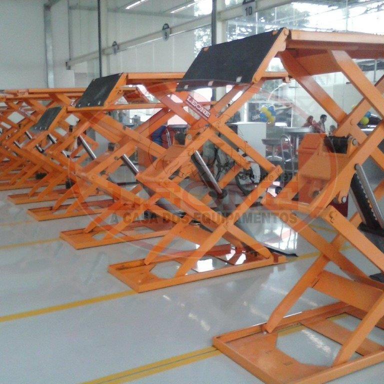Elevador Tesoura Sobre Piso - Capacidade 3000kg - Trifásico