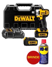 Chave de Impacto 1/2´´ à Bateria 20V 220V DCF880L2-B2 - Dewalt + WD-40
