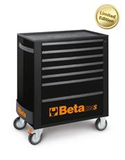 Carro Para Ferramentas com 7 Gavetas Preto Edição Limitada - C24S - Beta