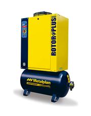 Compressor de Ar Parafuso Rotor Plus 4 HP - Metalplan