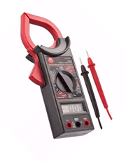 Alicate Amperímetro Digital Multímetro 100684 - Worker
