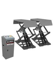 Elevador Pantográfico Tesoura Embutido com Rampas Móveis e Fixas 3 Toneladas 3HP MAH-2003 - Mahovi