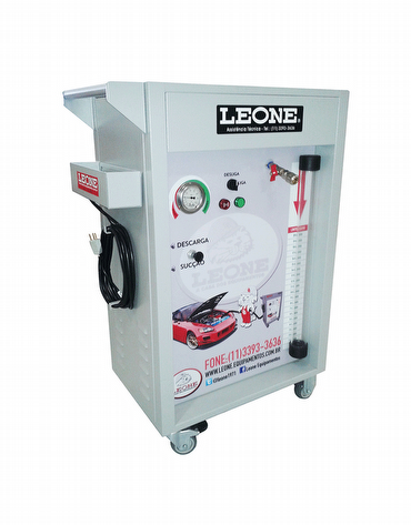 Máquina para Troca de Óleo à Vácuo - 20 lts - C/ Descarga Pressurizada - UP 2008