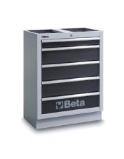 Módulo Fixo com 5 gavetas para Oficina C45 - Beta