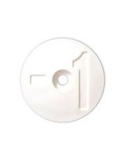 Disco de Identificação do Número do Tanque - Branco