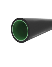 Tubo PEAD Revestimento Interno 1.1/2´´ 50mm - Bobina 25 Metros - Zeppini