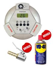 Calibrador Eletrônico Aluminio 145lbs - 220v Premium + WD-40 Spray 300ml (Brinde) + Bico Auto Travante (Brinde)