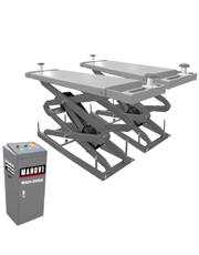 Elevador Pantográfico Tesoura Embutido com Duplo Extensor e Kit para SUV 3,5 Toneladas 3HP MAH-2002 - Mahovi