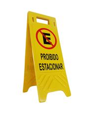 Cavalete de Sinalização - Proibido Estacionar