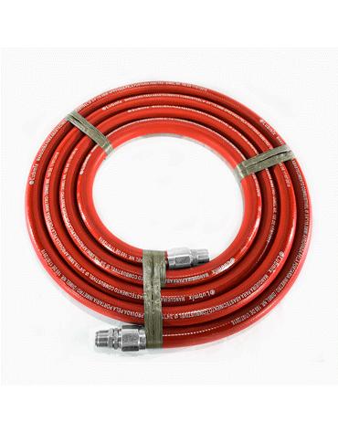 Mangueira Vermelha para Gasolina 3/4 5M - Terminais em Alumínio