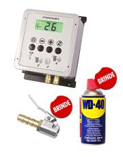 Calibrador Eletrônico de Pneus M4000 Premium Box + WD-40 Spray 300ml (Brinde) + Bico Auto Travante (Brinde)