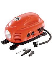 Mini Compressor Digital 12V - Asi200-LA - Black+Decker