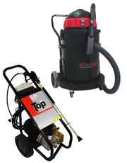 Combo Aspirador ASPIRAFORT Poli - 80 lts + Lavadora de Alta Pressão Profissional 1800 psi TOP 1800