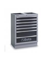 Módulo Fixo com 7 gavetas para Oficina C45 - Beta