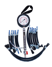 Teste de Pressão/Vazão da Bomba Elétrica de Veículos com Injeção Eletrônica - 13 Mangueiras - TVP-8700/13- Planatc