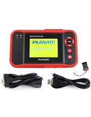 Scanner Automotivo com Teste de Motor, ABS, AirBag e Transmissão (A/T) Master Scan - Planatc
