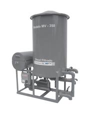 Filtro Prensa com Reservatório Vertical para 2 Bombas - MV350